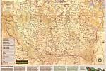 Z knihy Šumava a Bavorský les na starých mapách.