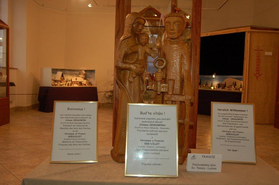 Výstava betlémů z celého světa v Domažlicích.