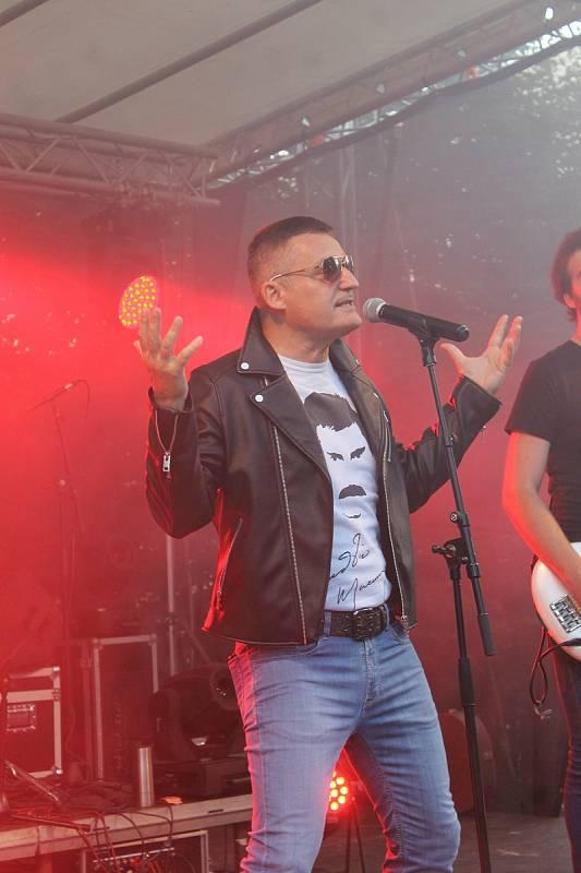 Vladimír Hron, The Drops a jejich Queen The Story ve Kdyni 2020.