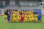 Dorost Jiskry Domažlice U19 po posledním utkání v krajském přeboru sezony 2017/18 a postupu do divize.