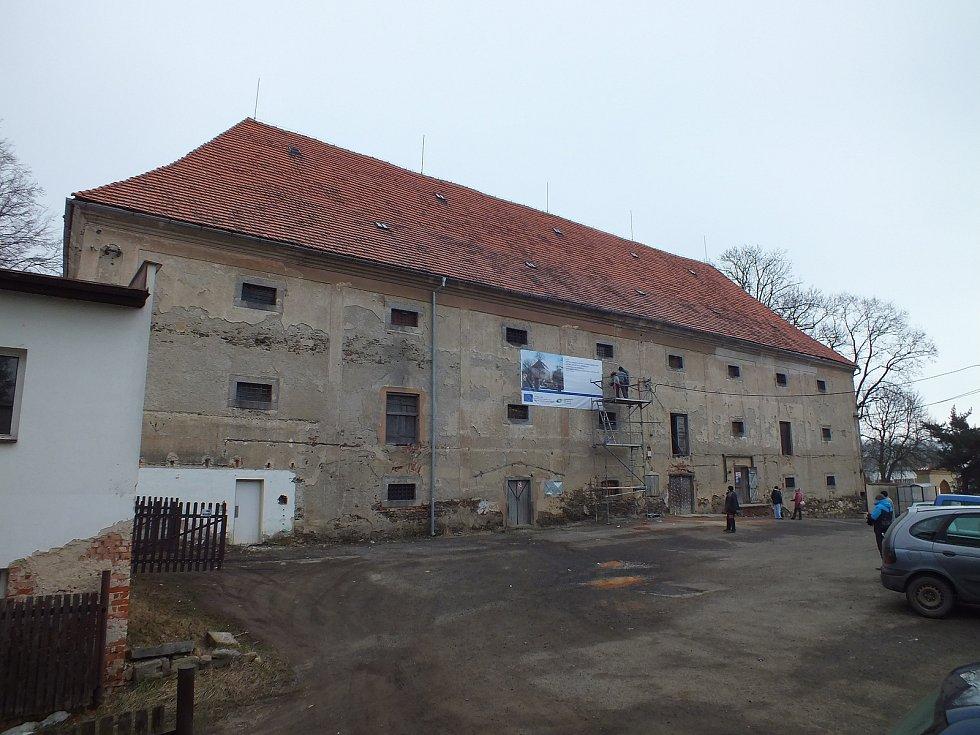 Národní kulturní památka v rekonstrukci, která by měla trvat do září 2018
