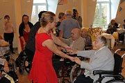 Ples v Domě seniorů ve Kdyni, 2019.