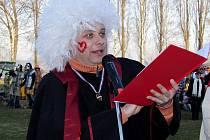 Masopustní soudce Vladimír Foist.