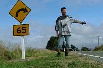 Jaroslav Tippl stopuje na po Novém Zélandu.