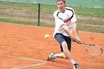 Tenista Patrik Říha.