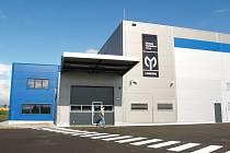 Nová hala společnosti MP Group v domažlické průmyslové zóně.