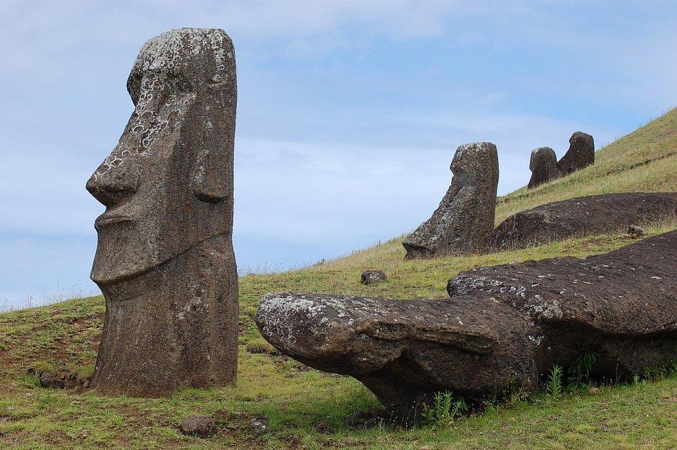 Z Čertova kamene a Velikonočního ostrova. Pixabay