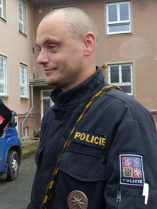 Psovod František Kohout odpovídal na otázky médií.