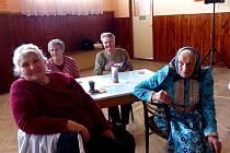 OS UCHO Tlumačov připravilo posezení pro seniory.