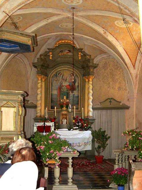 Kostelík sv. Václava v Brůdku.