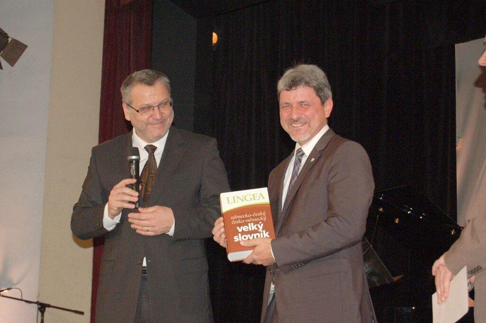Slavnostní koncert  konaný u příležitosti 25. výročí podpisu partnerských smluv mezi městy Domažlice a Furth im Wald.