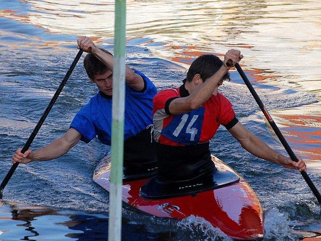 Na Radbuze v Horšovském Týně se konaly vodácké závody.