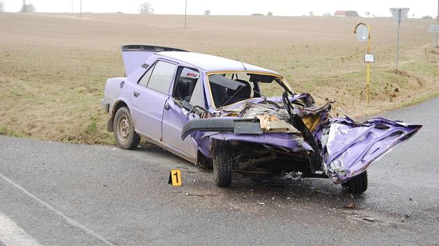 Nehoda u Holýšova.