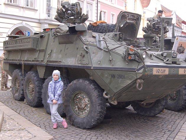 Oslavy osvobození v Domažlicích.