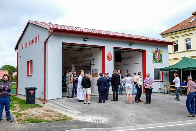 Nová hasičská zbrojnice v Hlohové.