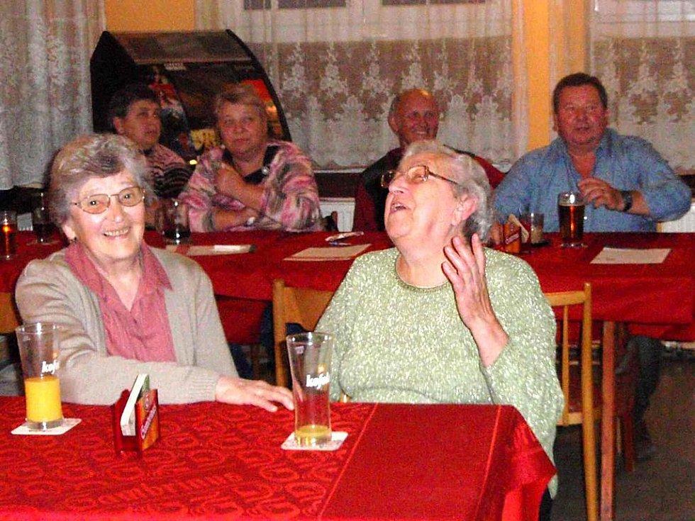 Ze setkání seniorů v Draženově.