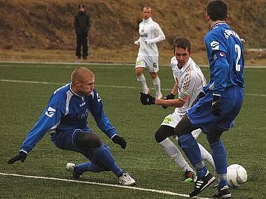 Ilustrační snímek z utkání fotbalistů Vlašimi.