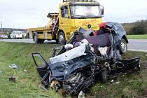 Tragická nehoda u Staňkova.