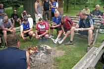 Dílští nadšenci vyjeli na tradiční cyklovýlet.