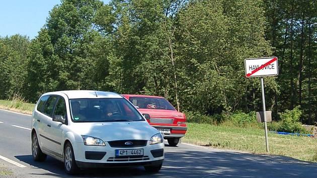 Silniční průtah obcí Havlovice bude od 12. července uzavřen.