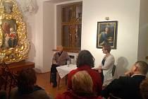 Z besedy s jedním z Wintonových dětí – Asafem Auerbachem v domažlickém Muzeu Chodska.