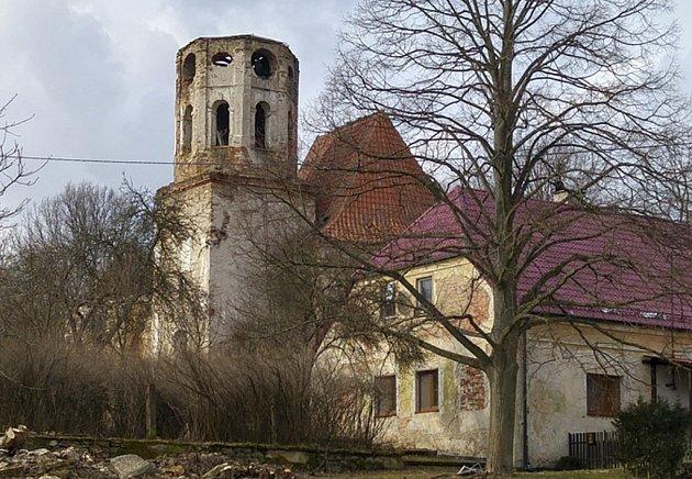 Kostel sv. Mikuláše v Šitboři.