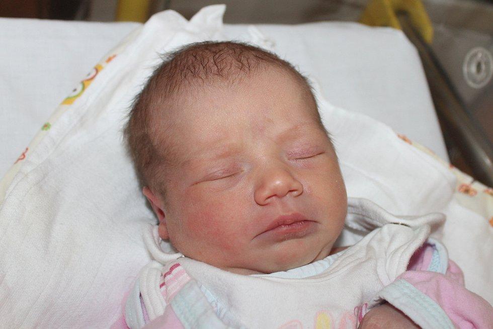 Rozálie Královcová z Pařezova se narodila 12.listopadu v 9:53. Její váha byla 2850 gramů a míra 49 centimetrů.
