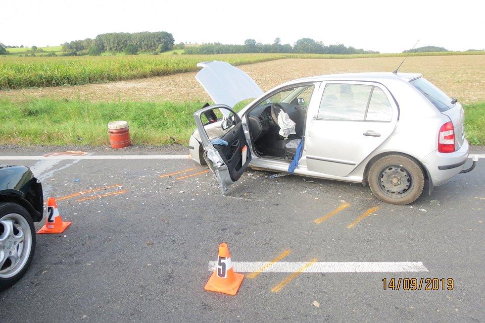 Nehoda u Kouta na Šumavě.