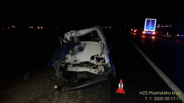 Tragická nehoda u Staňkova