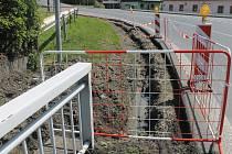 Nový chodník vznikne u autobusové zastávky v Libkově ve směru od Klatov na Kdyni.