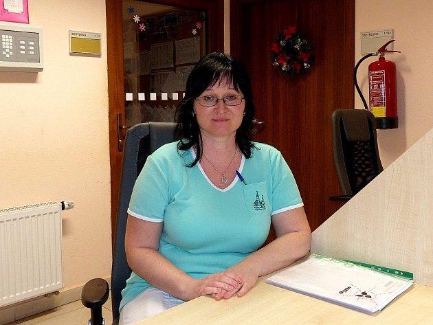 Andrea Jakešová, zdravotní sestra, Městský domov pro seniory Domažlice.