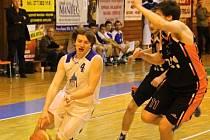 Play-off II. ligy v basketbalu. Jiskra Domažlice x Start Havířov.