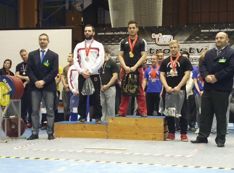 Jan more se radoval z vítězství v Mistrovství ČR dorostu a juniorů 2016 s mezinárodní účastí.