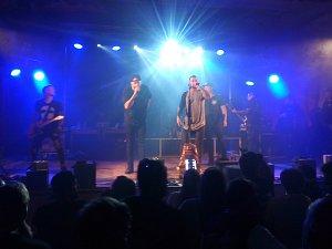 Sobotní show rapera Marpa s jeho hudební kapelou TroubleGang navštívil hojný počet návštěvníků.