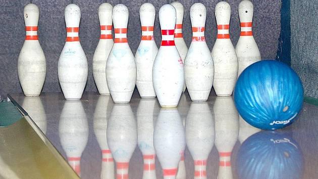 Ilustrační snímek z bowlingu.