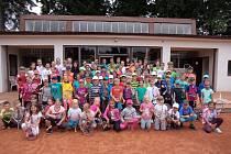 Účastníci Týdne s tenisem.