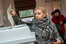 Volby v Čečovicích.