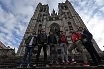 Domažličtí gymnazisté stihli také poznávání historických pamětihodností Bruselu. Foto zarchivu GJŠB.