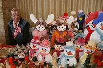 Vánoční výstava holýšovských zahrádkářů.