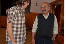 Petr März z odboru životního prostředí a Svatopluk Krýsl ze Zdravotního ústavu v Plzni.