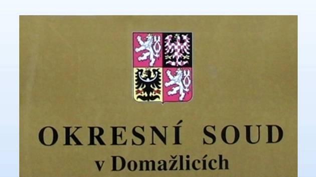 Ilustrační foto. Okresní soud v Domažlicích.