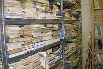 Současný stav ornitologické knihovny.