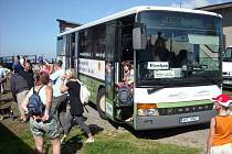 Autobusová linka na Čerchov jezdí od roku 2011.