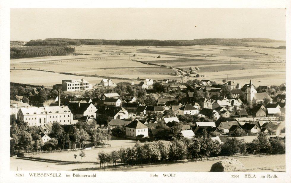 Historička Kristýna Pinkrová připravuje publikaci o historii Bělé nad Radbuzou a okolí. Na snímku je fotografie z roku 1937.