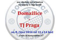 Pozvánka na první domácí zápasy sezony domažlických volejbalistů.
