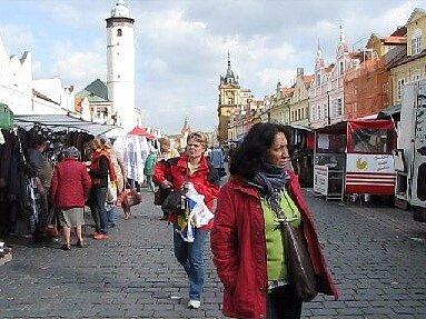 Středeční trh 15. řííjna 2008.