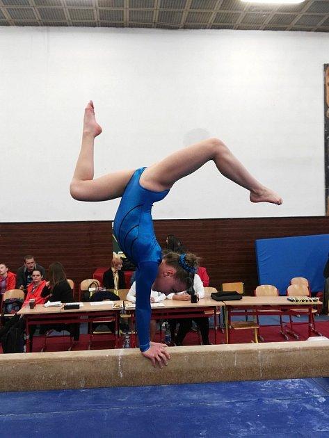 Domažlické gymnastky zahájily sezonu.