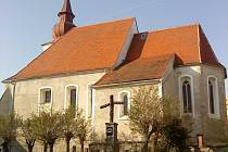 Kostel v Poběžovicích.
