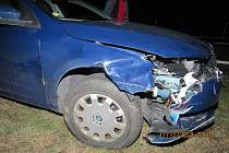 Při nehodě nedošlo ke zranění osob