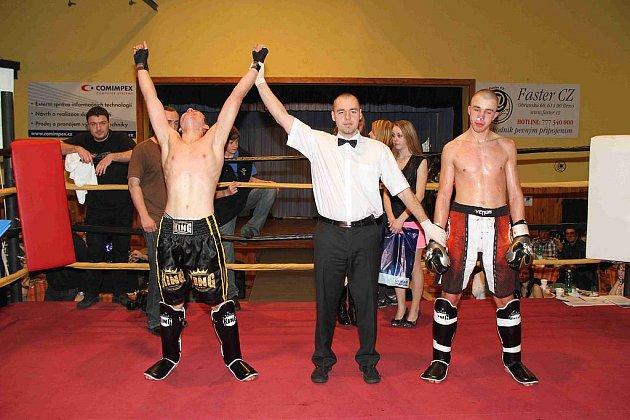 Galavečer kickboxu King of Kings v Pocinovicích.